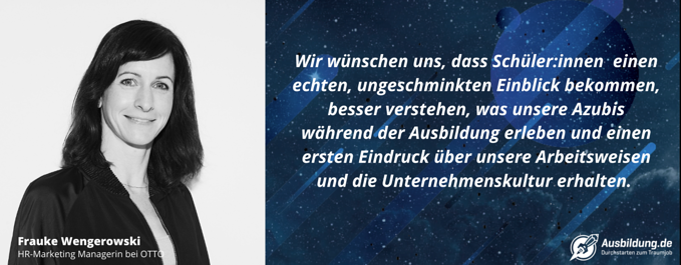 Frauke Wengerowski OTTO_Interview mit Ausbildung.de