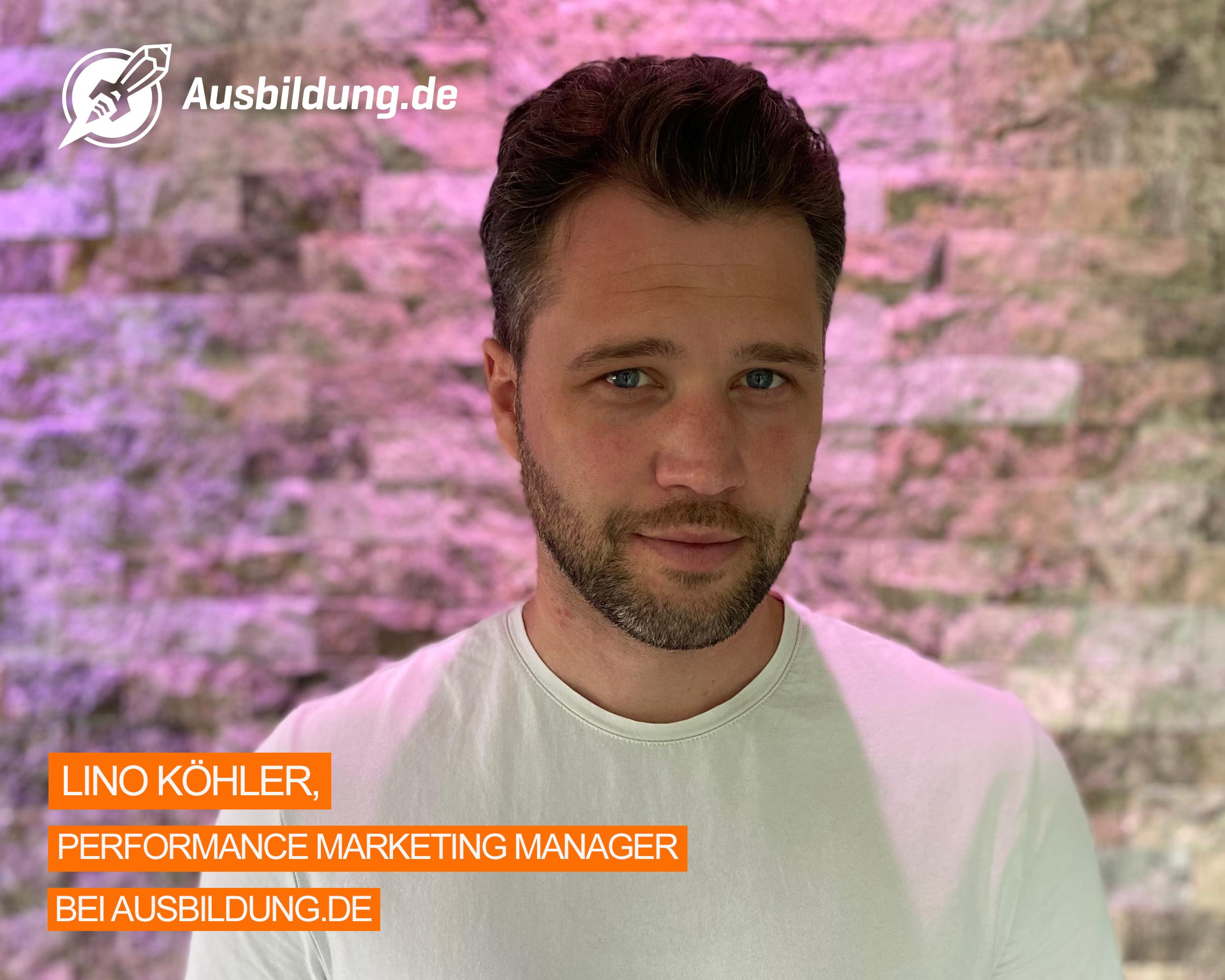 Lino Köhler Performance Marketing Manager
